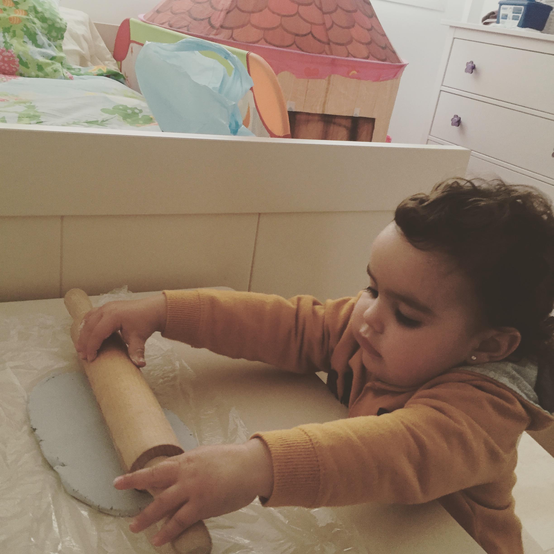 modelar con pasta de sal