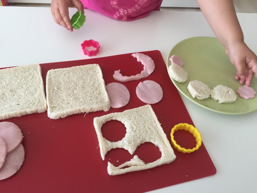 cocinar con niños en primavera
