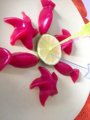 gominolas de frutas sanas caseras
