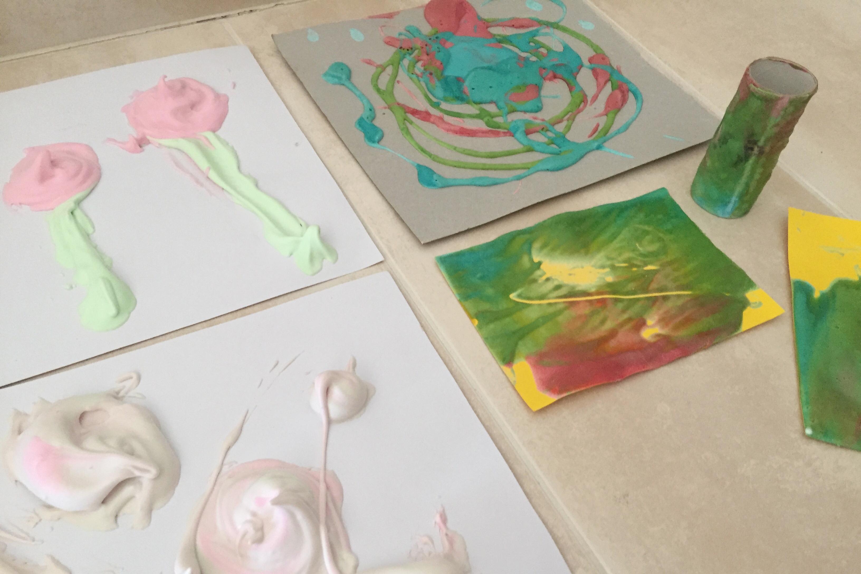 manualidades con pintura 3d casera