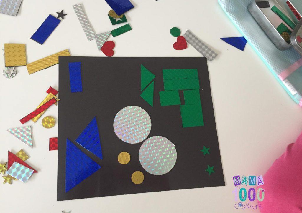 clasificar formas geometricas juego diy