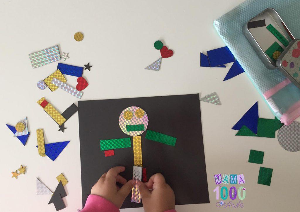 juego de formas geometricas DIY
