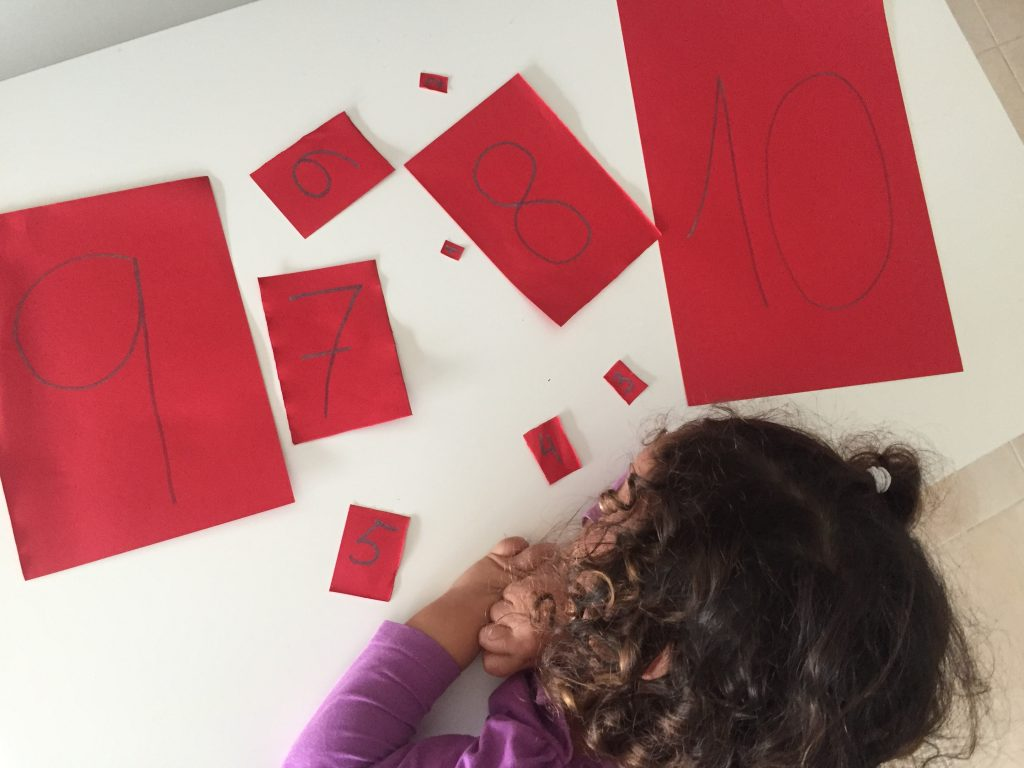 actividades para aprender los numeros