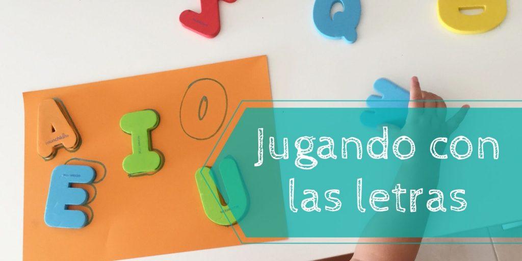 juegos con las letras infantil