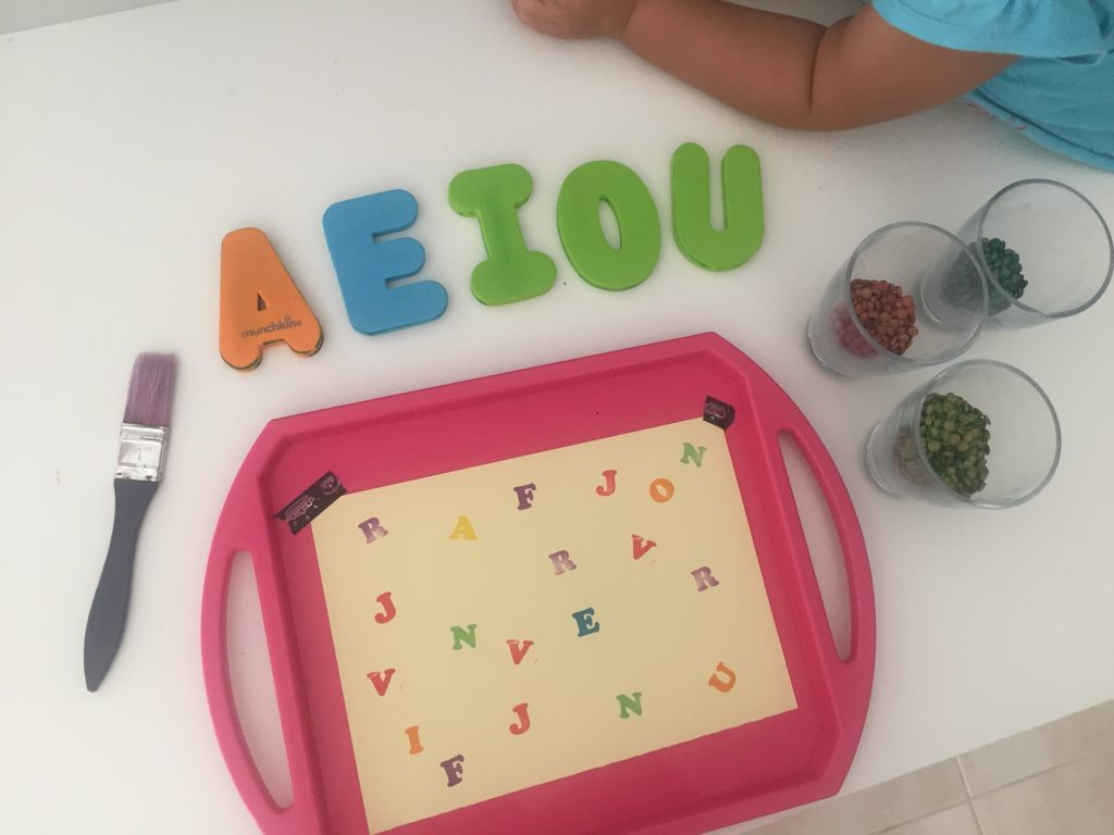 Juegos con letras para niños de 3 años