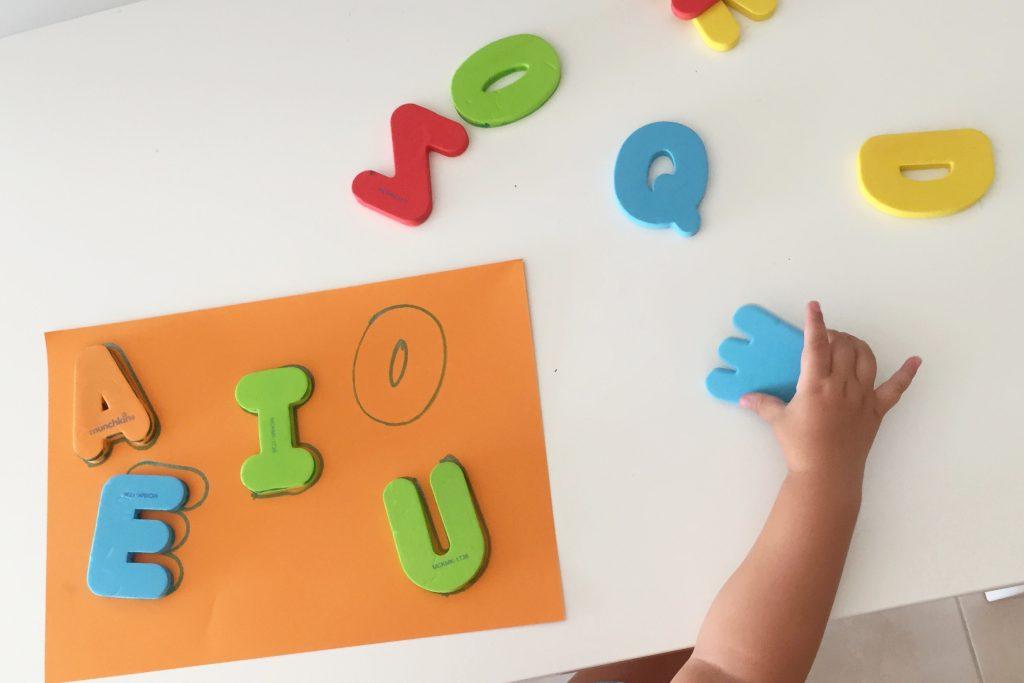 juegos para aprender las vocales