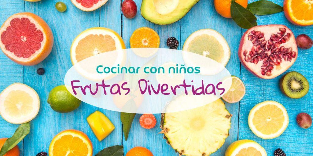 figuras con frutas para niños