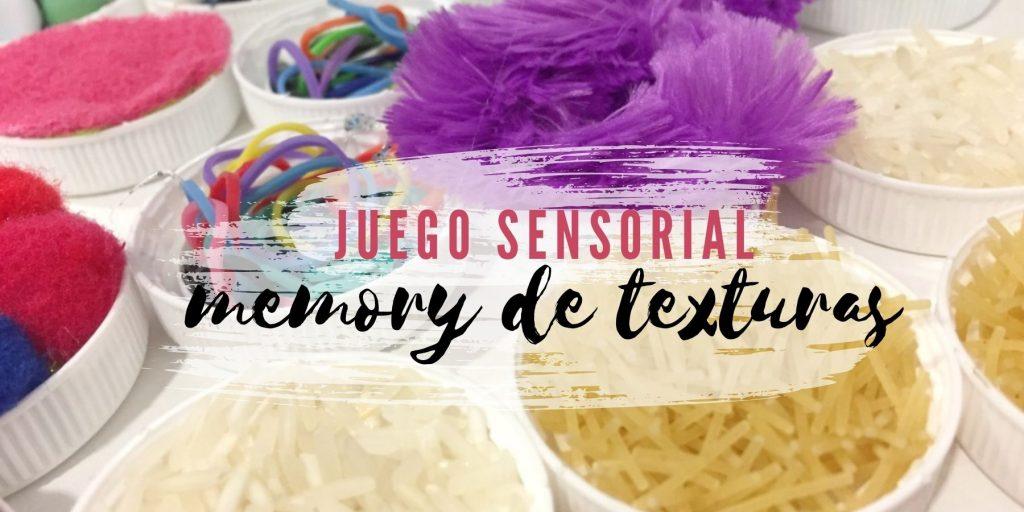 material sensorial casero