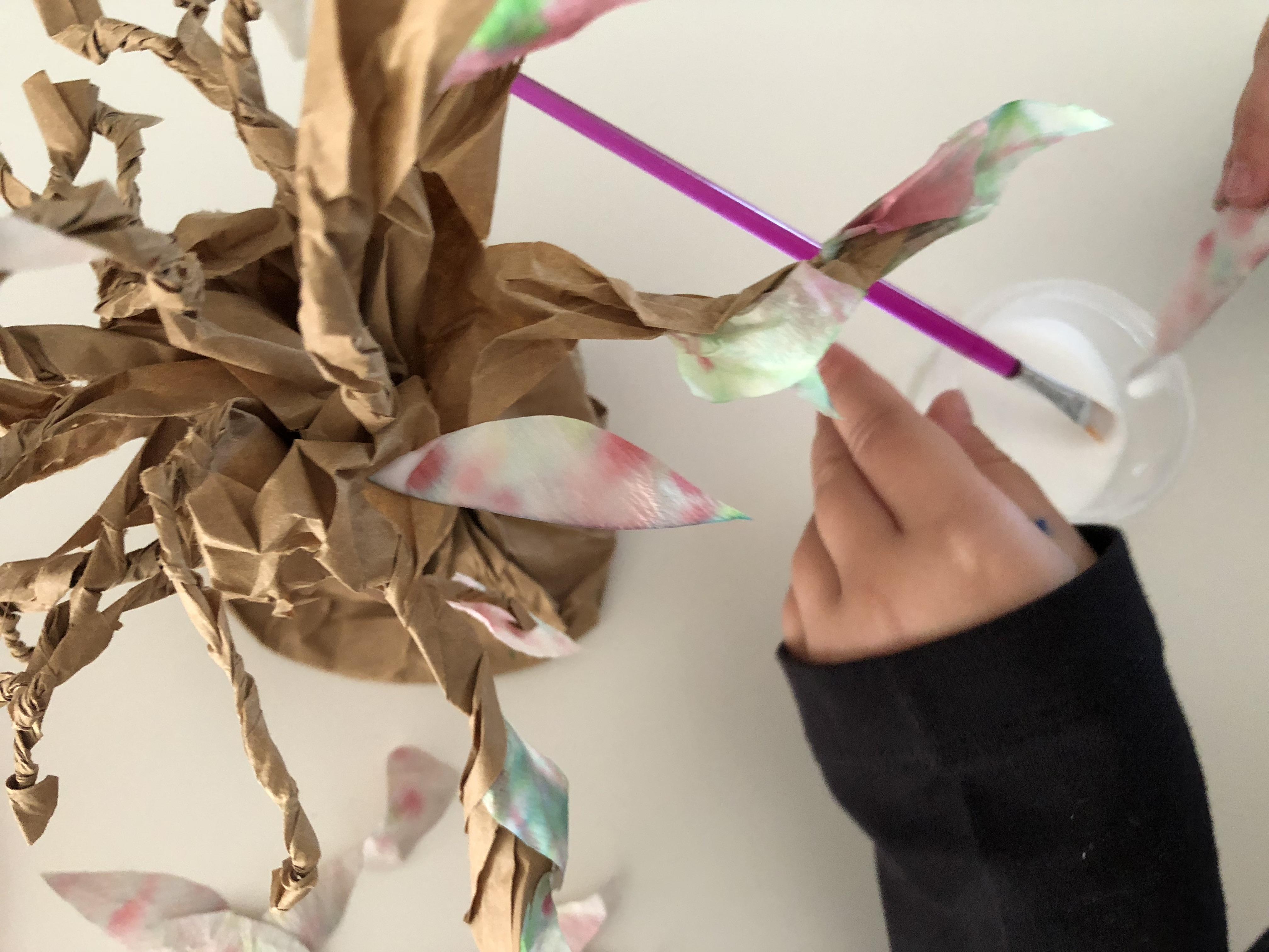 arbol de papel