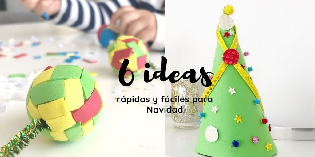 manualidades faciles para navidad con niños