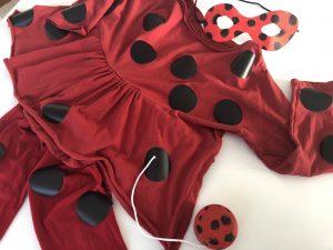 disfraz rapido y fácil de ladybug