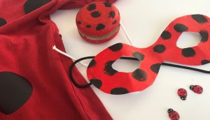 disfraz DIY de ladybug