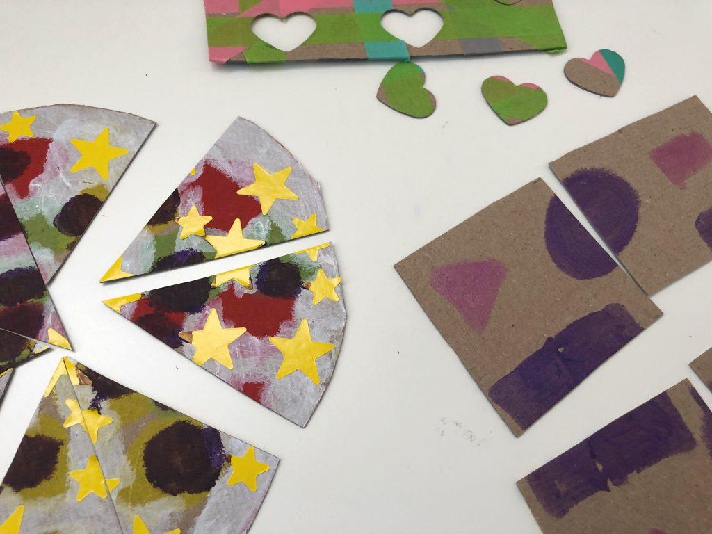 ideas para hacer puzzles caseros para niños