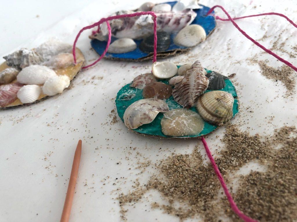 manualidad de playa para niños