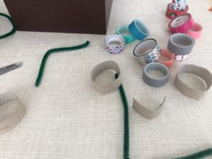 manualidad fácil para niños con washitape