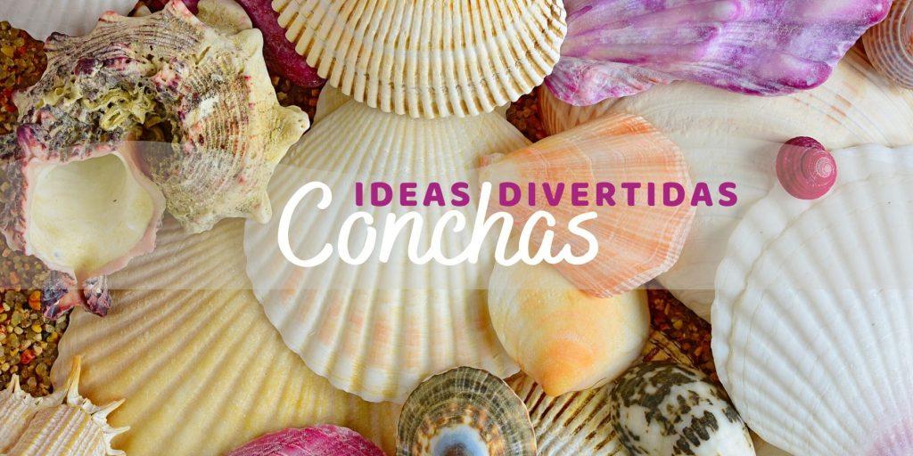 ideas divertidas para hacer en verano con conchas