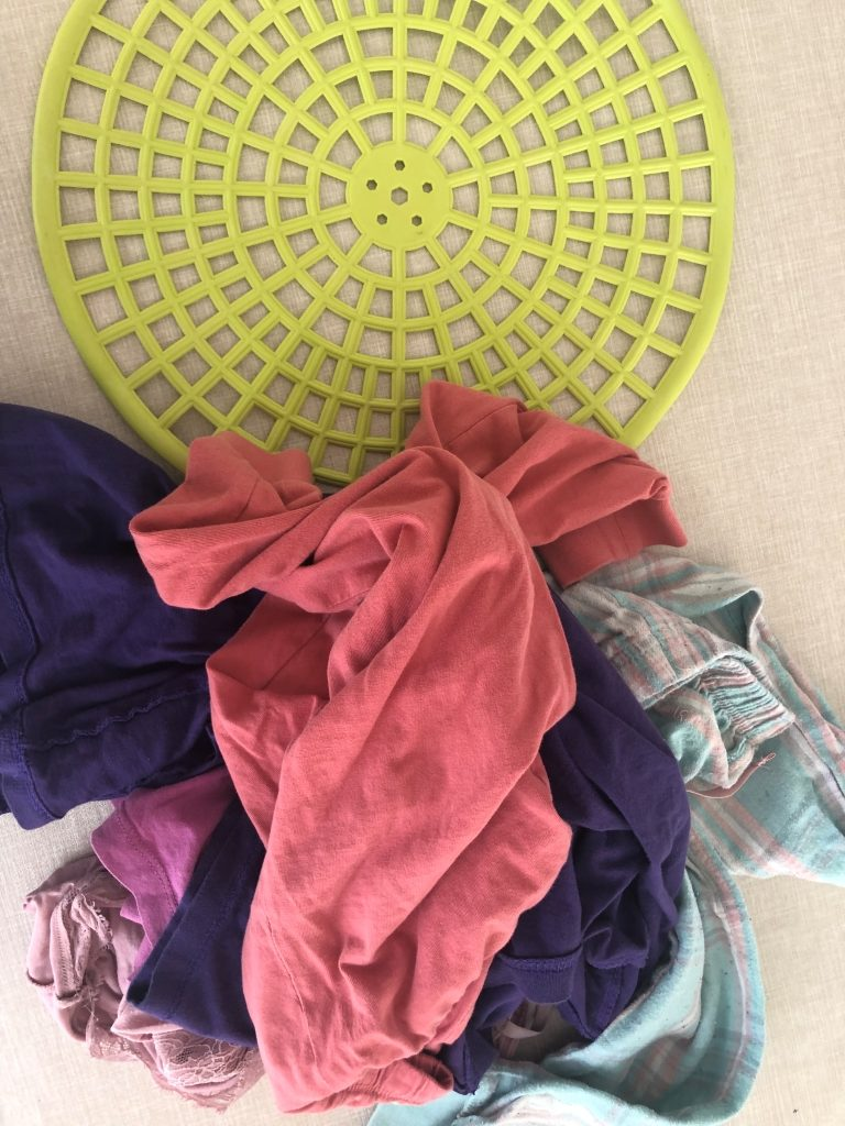 materiales reciclados para hacer una alfombra