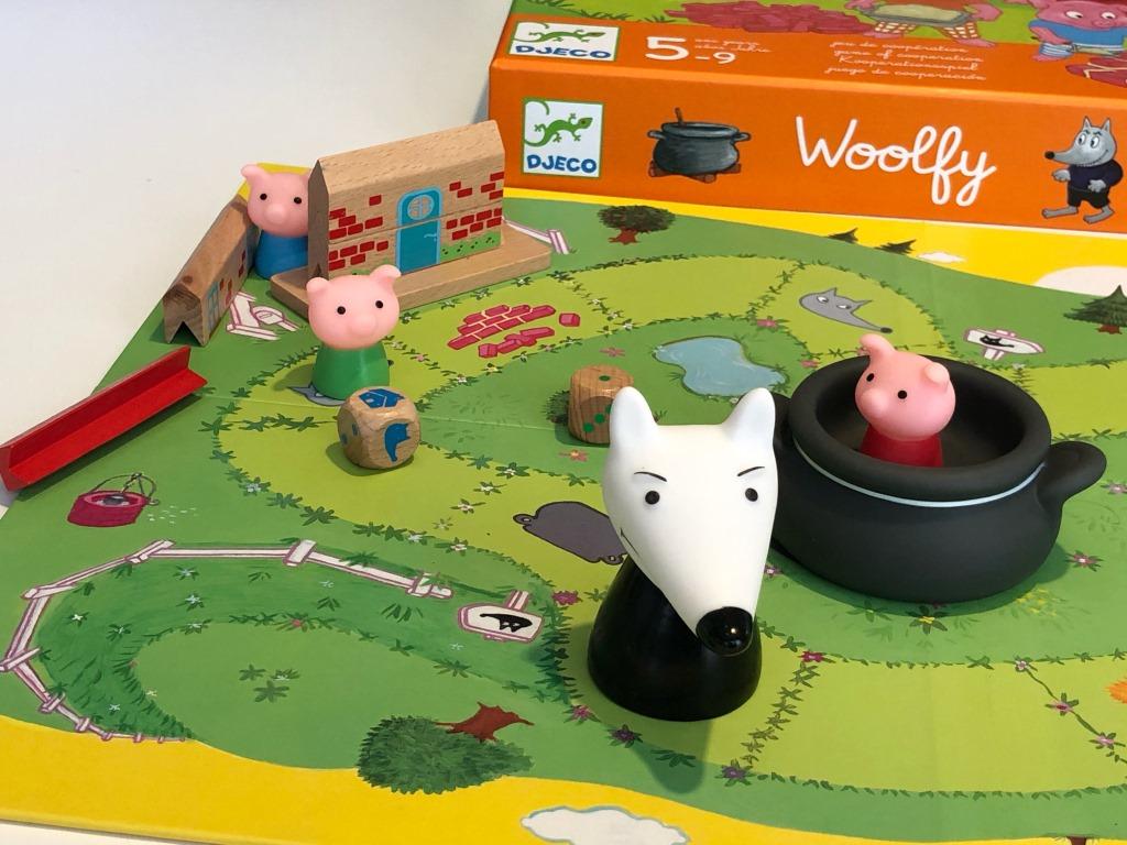 woolfy, juego de cooperacion