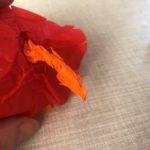 manualidades con papel flores faciles
