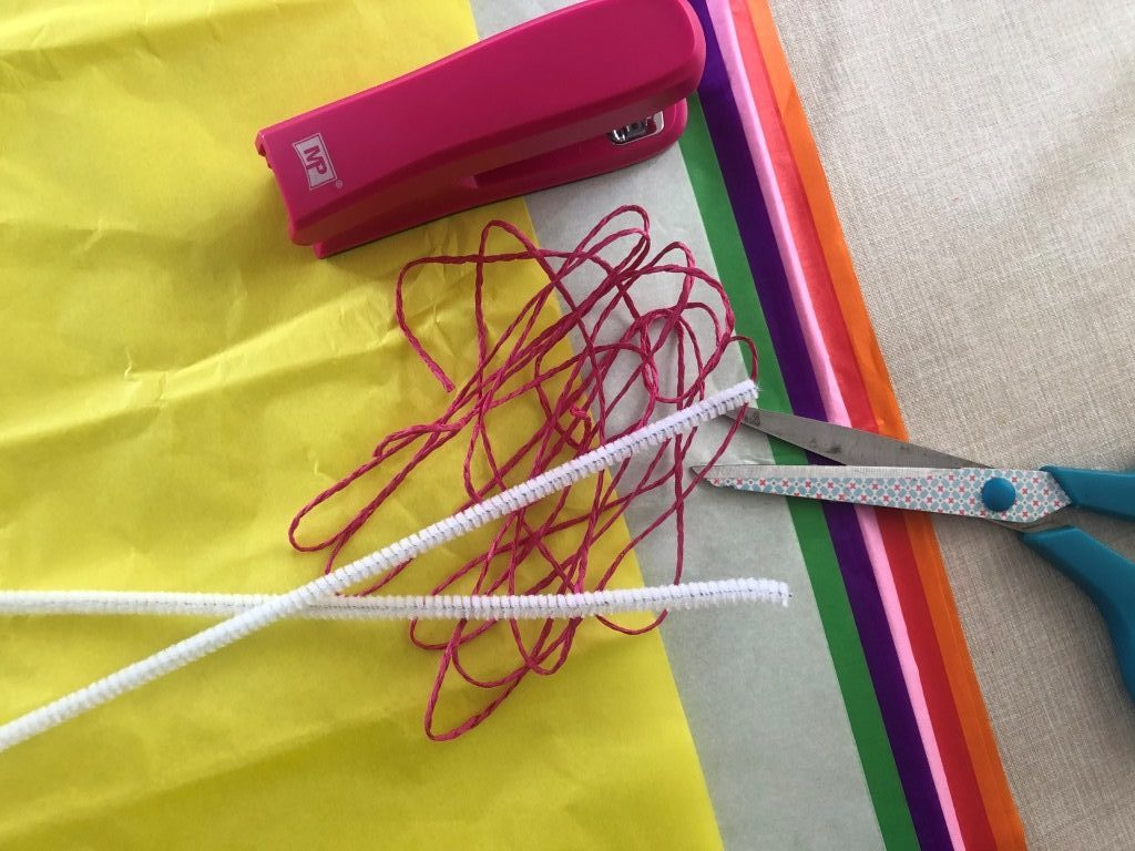 ideas faciles con papel de seda