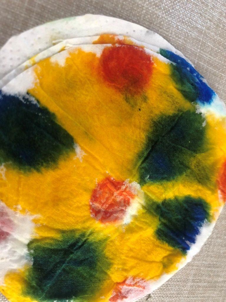 hacer flores con papel higienico