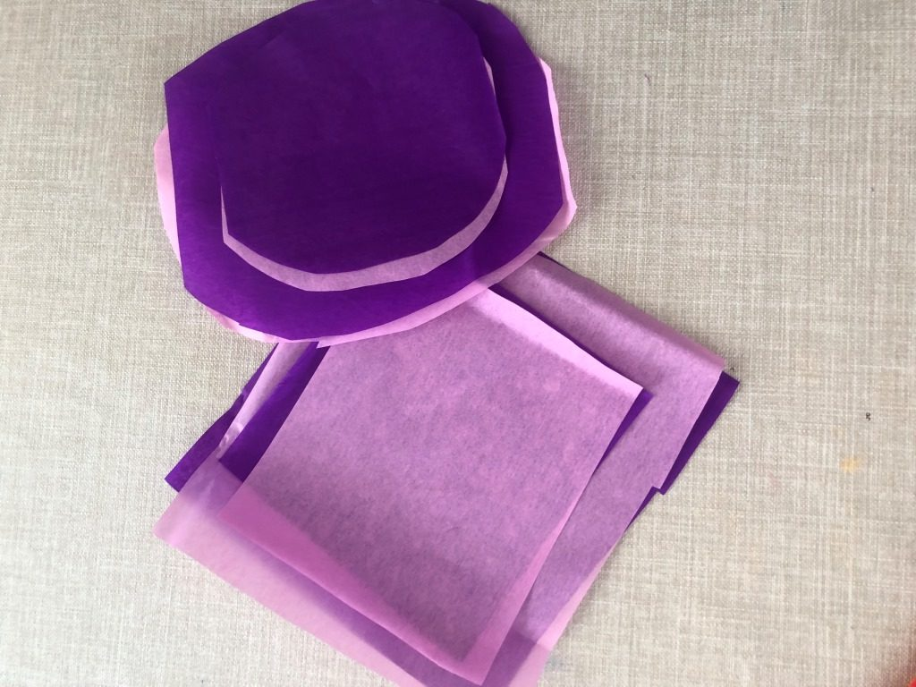 manualidades con papel seda