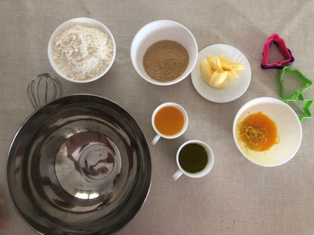 ingredientes para hacer crespells sin manteca de cerdo