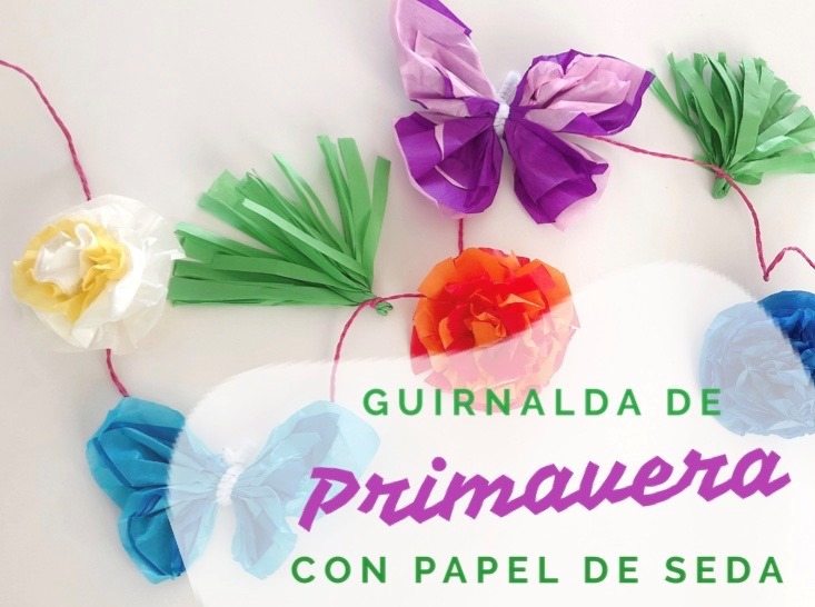 guirnalda DIY PRIMAVERA