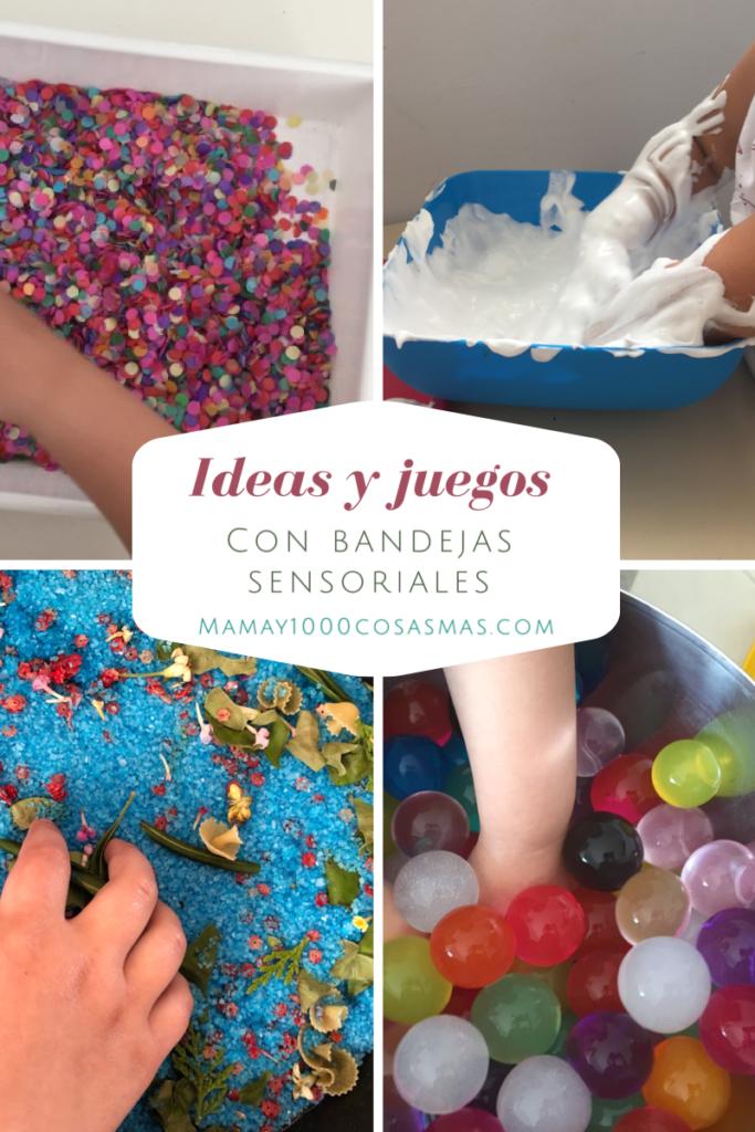 ideas bandejas sensoriales