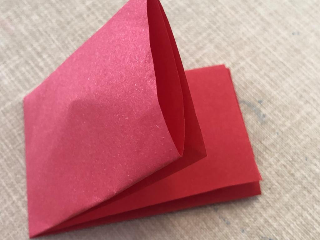 paso a paso corazon origami