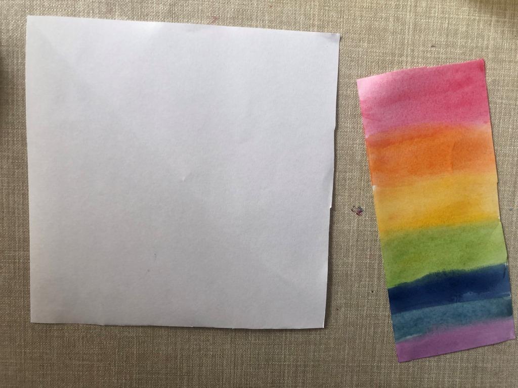 materiales para hacer un unicornio de papel