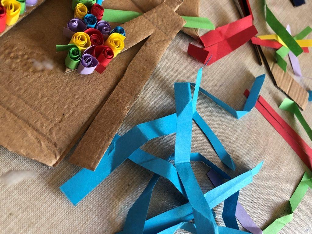 hacer filigranas papel faciles