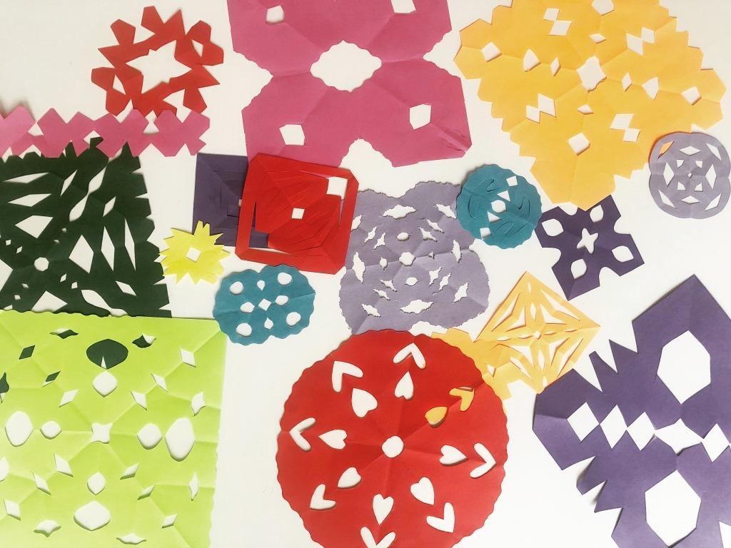 neulas de papel