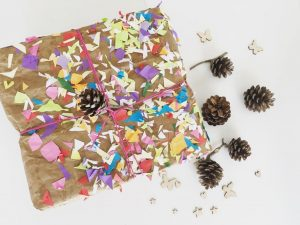 papel regalo sostenible