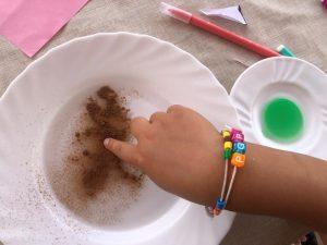 experimento infantil lavarse las manos