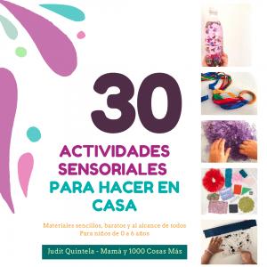 actividades sensoriales para niños