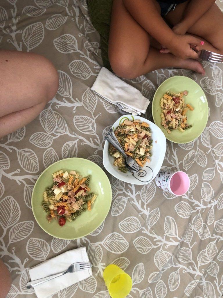 picnic plan en familia