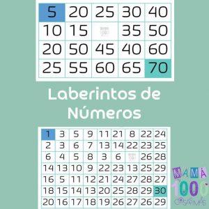 laberinto de números