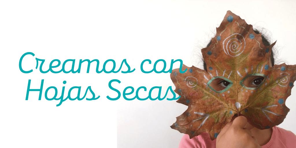 creaciones con hojas secas