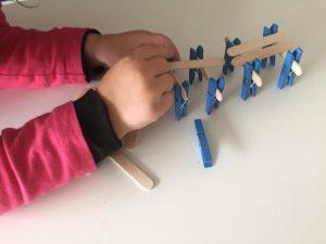 actividades con pinzas de madera