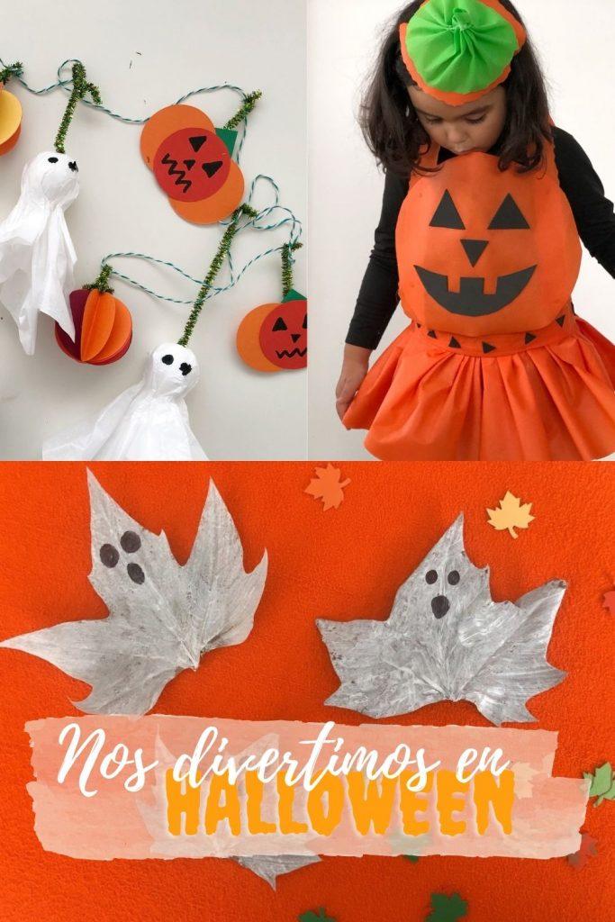manualidades halloween niños fáciles