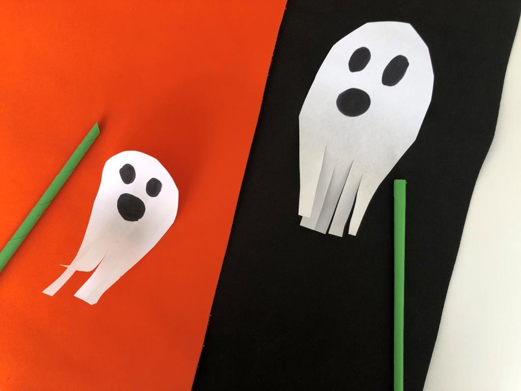 juego de soplo halloween, carrera de fantasmas