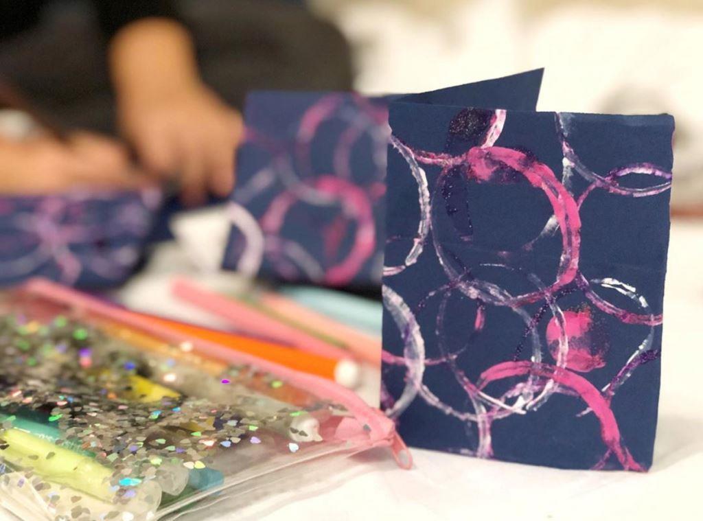 Tarjetas de navidad hecha por niños