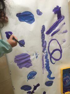 pinturas de invierno preescolar