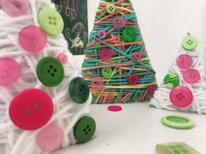 reciclaje creativo en navidad con niños