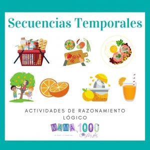 actividades de secuencias temporales