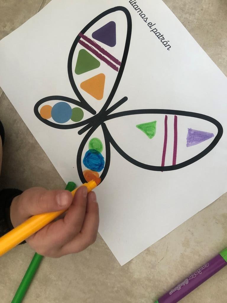 juegos de simetría para niños