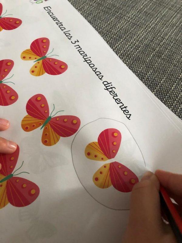 actividades de atención para niños