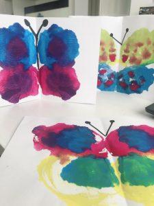tecnicas de pintura para hacer mariposas