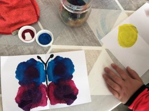 manualidades infantiles mariposa